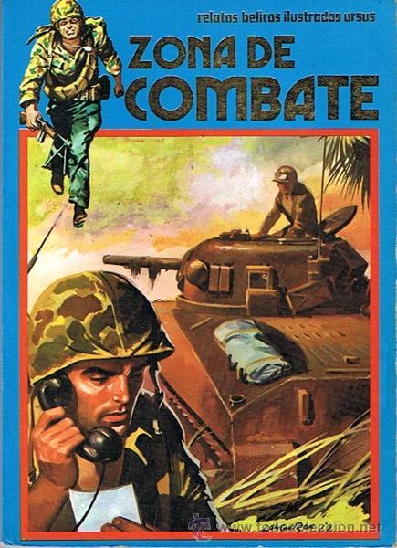 CÓMIC ZONA DE COMBATE CONCIERTO BÉLICO (Tebeos y Comics - Ursus)