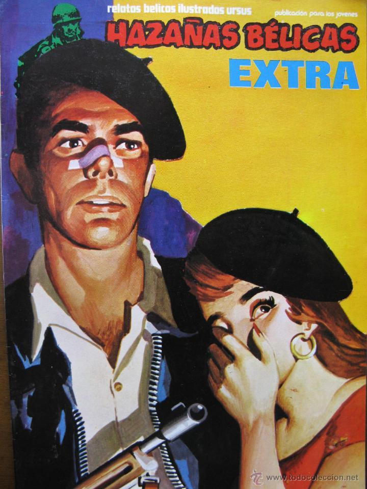 LOTE HAZAÑAS BÉLICAS EXTRA (Nº 25 Y Nº 26). URSUS EDICIONES. (Tebeos y Comics - Ursus)