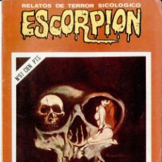 ESCORPION , RELATOS DE TERROR SICOLOGICO Nº 97
