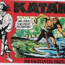 Comics : KATÁN.TOMO CON 5 EJEMPLARES. NÚMEROS: 5, 7, 8, 9, 10. Lote 16933050