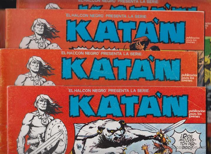 Cómics: KATÁN COLECCION COMPLETA 10 EJEMPLARES , ED. URSUS 1980 - Foto 3 - 49544620