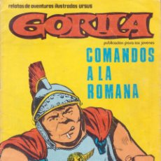 Fumetti: GORILA -- Nº 3 COMANDOS A LA ROMANA . Lote 50282467