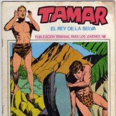 Cómics: TAMAR - EL REY DE LA SELVA - NUM. 8. Lote 50560818