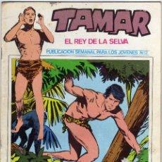 Cómics: TAMAR - EL REY DE LA SELVA - NUM. 12. Lote 50560947