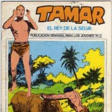 Cómics: TAMAR - EL REY DE LA SELVA - NUM. 13. Lote 50561019