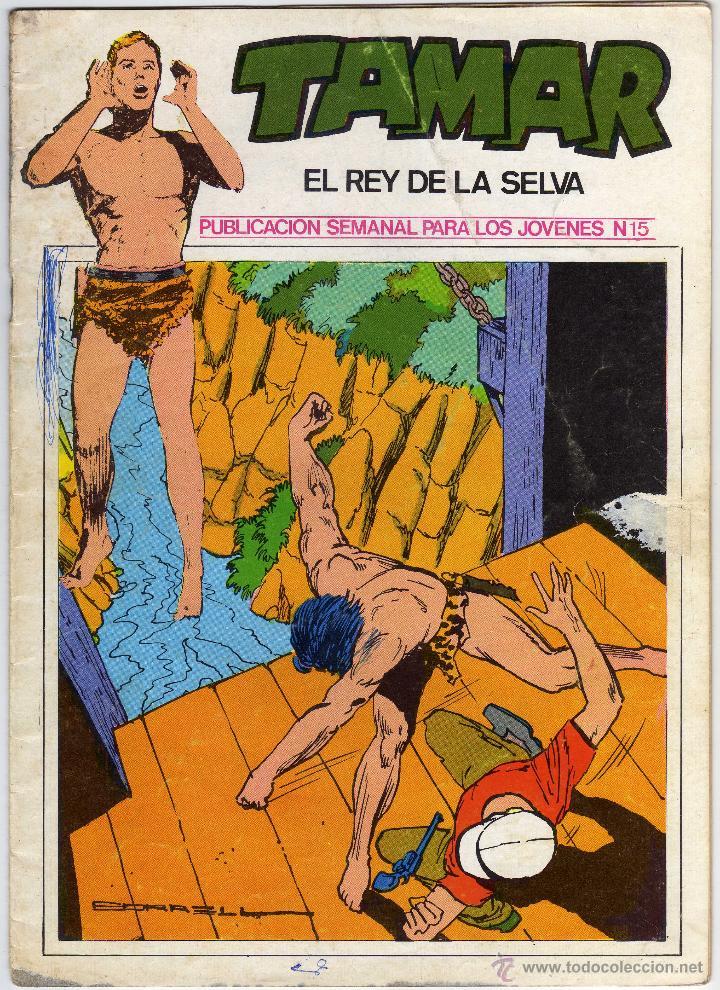 TAMAR - EL REY DE LA SELVA - NÚM. 15 (Tebeos y Comics - Ursus)