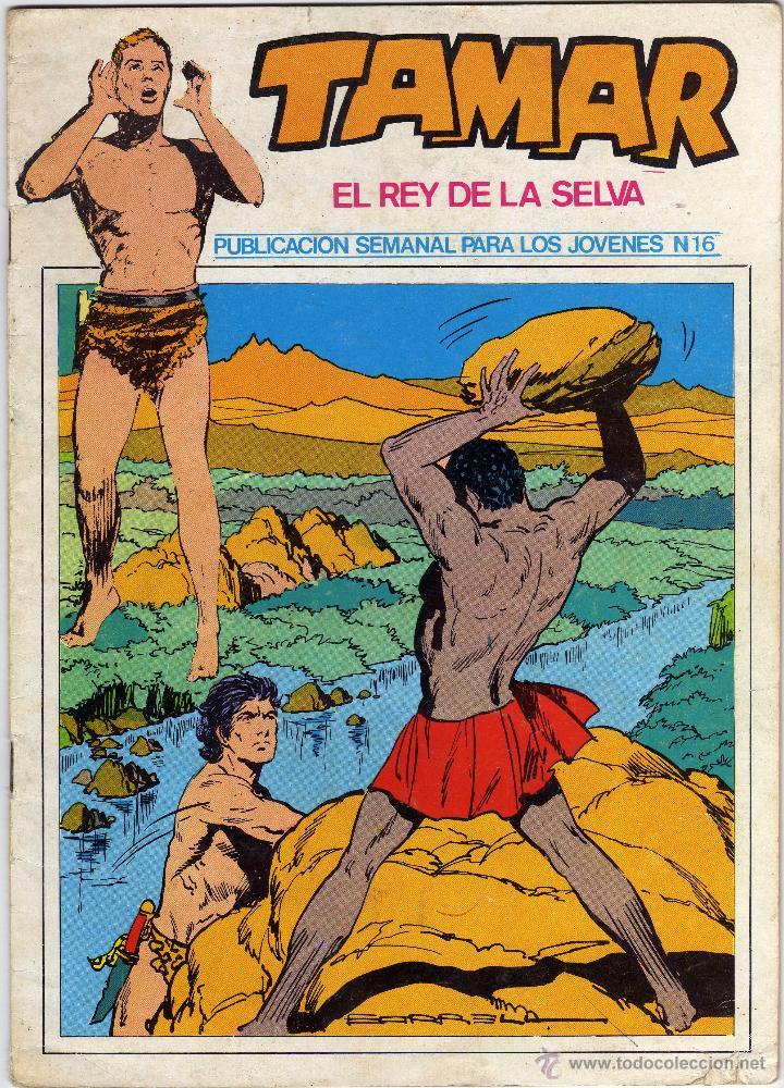 TAMAR - EL REY DE LA SELVA - NÚM. 16 (Tebeos y Comics - Ursus)