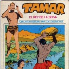 Cómics: TAMAR - EL REY DE LA SELVA - NÚM. 16. Lote 50561153
