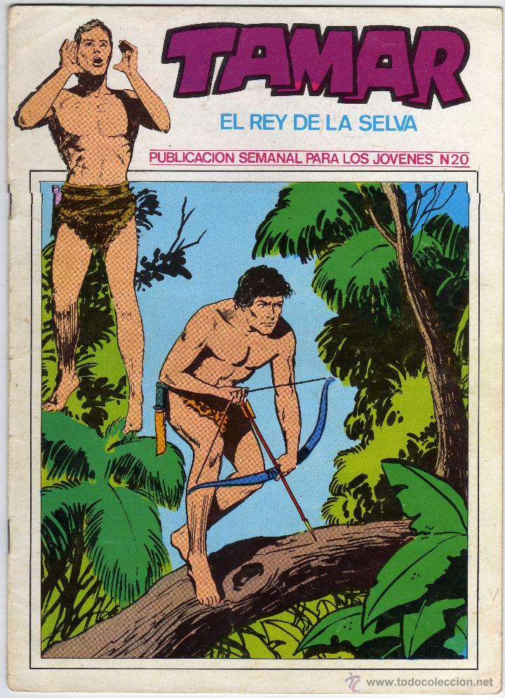 TAMAR - EL REY DE LA SELVA - NÚM. 20 (Tebeos y Comics - Ursus)