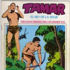 Cómics: TAMAR - EL REY DE LA SELVA - NÚM. 20. Lote 50561297