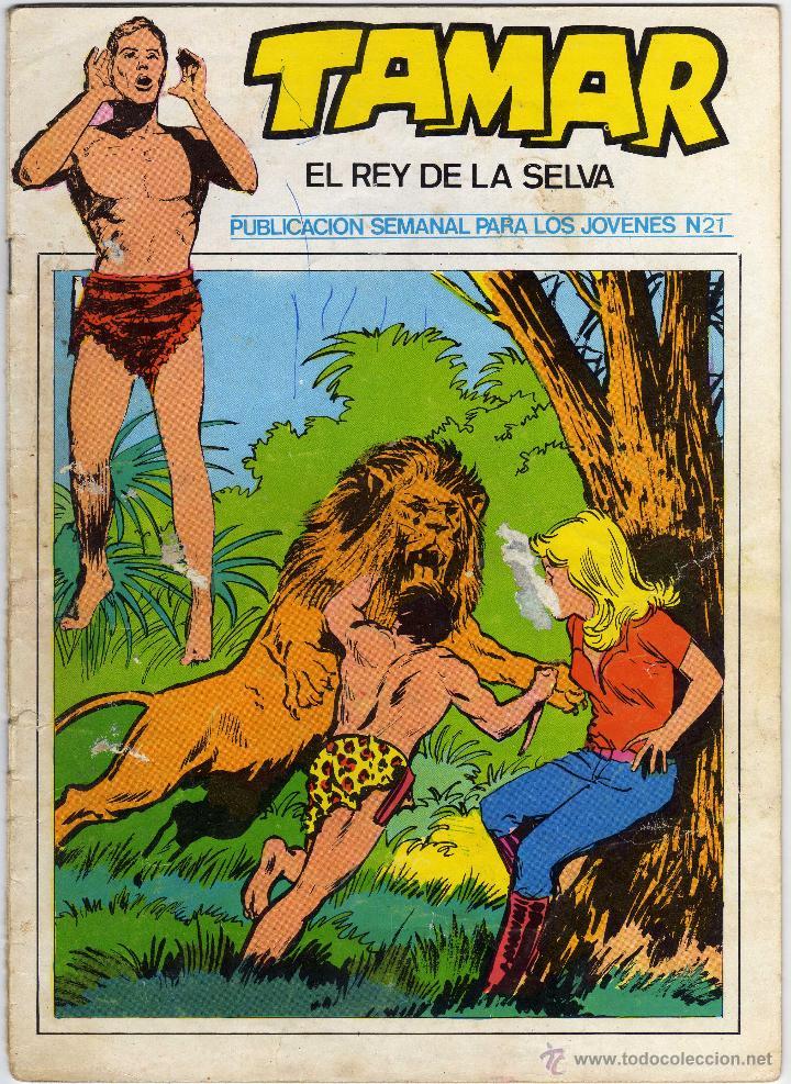 TAMAR - EL REY DE LA SELVA - NÚM. 21 (Tebeos y Comics - Ursus)