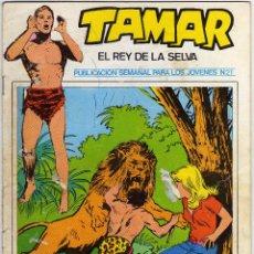 Cómics: TAMAR - EL REY DE LA SELVA - NÚM. 21. Lote 50561324