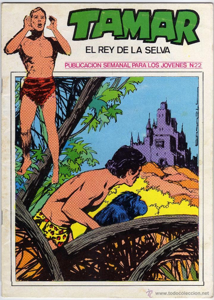 TAMAR - EL REY DE LA SELVA - NÚM. 22 (Tebeos y Comics - Ursus)