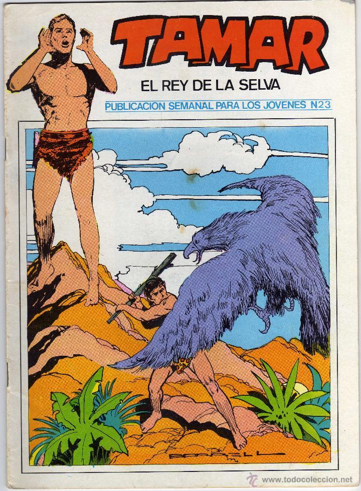 TAMAR - EL REY DE LA SELVA - NÚM. 23 (Tebeos y Comics - Ursus)