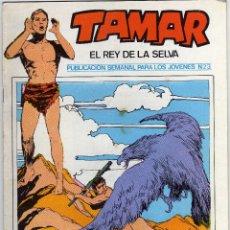 Cómics: TAMAR - EL REY DE LA SELVA - NÚM. 23. Lote 50561372