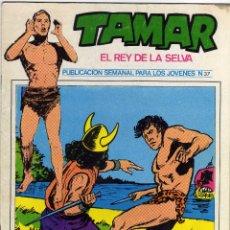 Cómics: TAMAR - EL REY DE LA SELVA - NÚM. 37. Lote 50561572