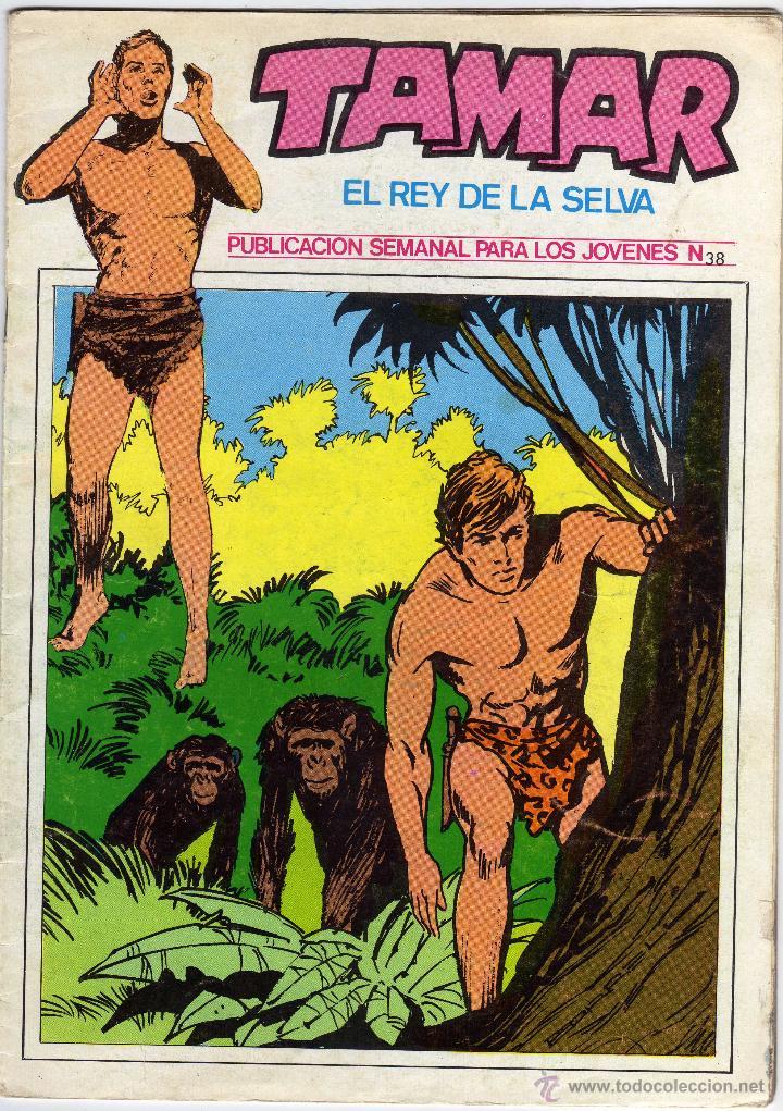 TAMAR - EL REY DE LA SELVA - NÚM. 38 (Tebeos y Comics - Ursus)