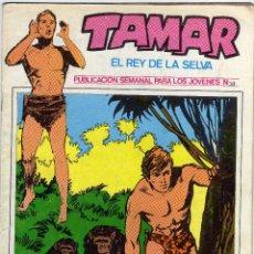 Cómics: TAMAR - EL REY DE LA SELVA - NÚM. 38. Lote 50561602