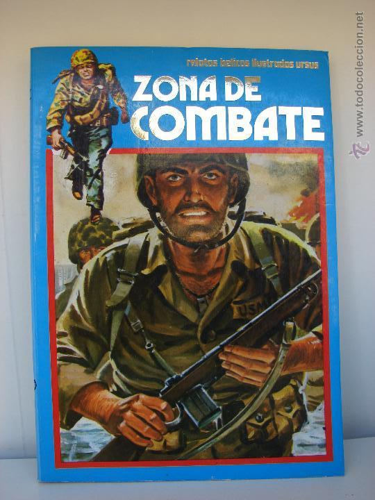 ZONA DE COMBATE. EXTRA NUMERO 17. CONTIENE LOS NUMEROS 113-114-115 Y 116 (Tebeos y Comics - Ursus)