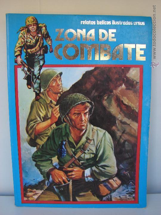 ZONA DE COMBATE. EXTRA NUMERO 20. CONTIENE LOS NUMEROS, 125-126-127 Y 128 (Tebeos y Comics - Ursus)