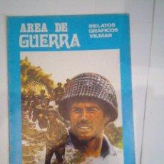 Cómics: AREA DE GUERRA - RELATOS GRAFICOS VILMAR - NUMERO 1 - BUEN ESTADO - CJ 37 . Lote 53652869