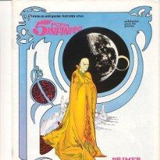 Cómics: CUATRO COMICS ´´5 POR INFINITO´´. RELATOS DE ANTICIPACIÓN ILUSTRADOS URSUS. Nº 1, 2, 3, Y 4. Lote 53950357