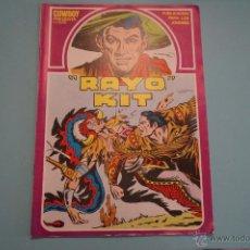 Cómics: CÓMIC DE RAYO KIT EL POSTER DE LOS TORMENTOS Nº 2 AÑO 1982 DE URSUS LOTE 6. Lote 54385231