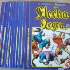 Cómics: FLECHA NEGRA , COMPLETA DE 12 NºS , BOIXCAR ,URSUS- SUELTA - . Lote 54829261