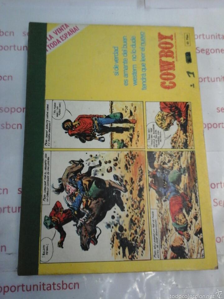 TOMO - COWBOY - N° 1-10 - URSUS - 1978 (Tebeos y Comics - Ursus)