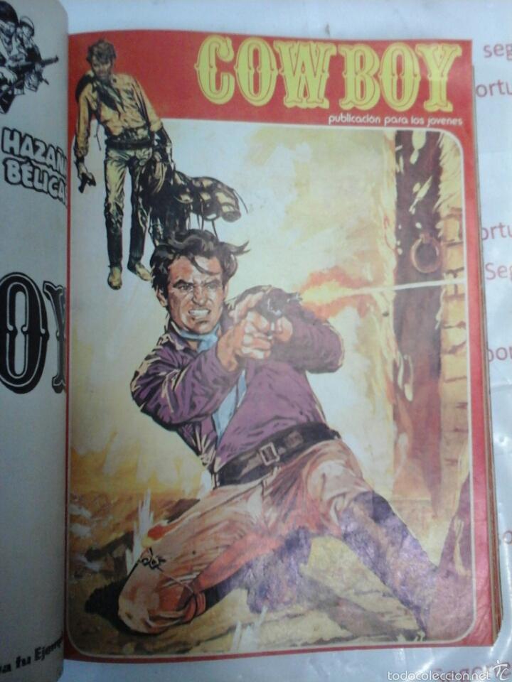 Cómics: TOMO - COWBOY - N° 1-10 - URSUS - 1978 - Foto 3 - 57649504