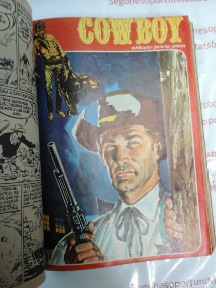 Cómics: TOMO - COWBOY - N° 1-10 - URSUS - 1978 - Foto 5 - 57649504