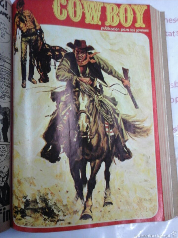 Cómics: TOMO - COWBOY - N° 1-10 - URSUS - 1978 - Foto 7 - 57649504