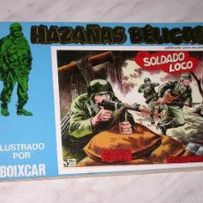Cómics: HAZAÑAS BÉLICAS Nº 8. EXTRA RETAPADO. ILUSTRADO POR BOIXCAR, LONGARÓN. URSUS, AÑOS 80. VER RELACIÓN. Lote 57961034