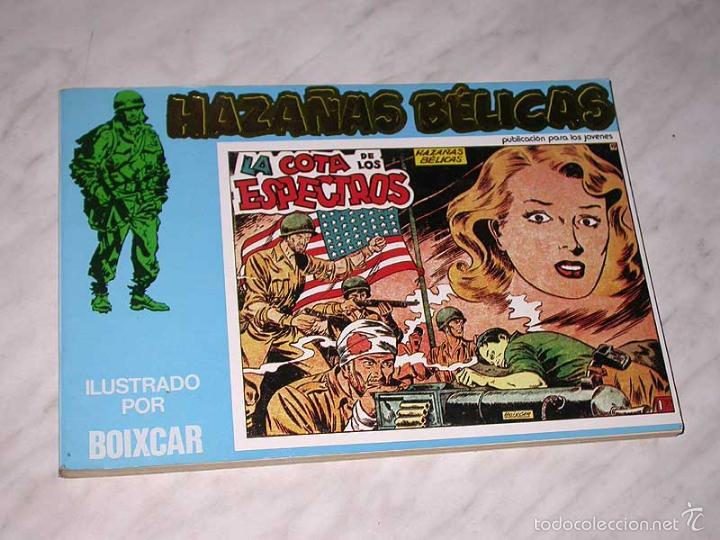 HAZAÑAS BÉLICAS Nº 2. EXTRA RETAPADO. ILUSTRADO POR BOIXCAR. URSUS, AÑOS 80. VER RELACIÓN. ++++ (Tebeos y Comics - Ursus)