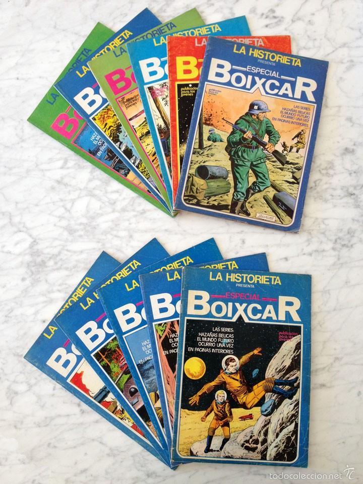 LA HISTORIETA - ESPECIAL BOIXCAR - LOTE DE 11 CÓMICS - NºS 2-3-4-5-6-7-8-9-10-11-14 - URSUS - 1980 (Tebeos y Comics - Ursus)