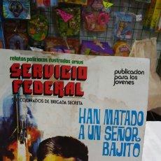 Cómics: RELATO POLICÍACO - HAN MATADO A UN SEÑOR BAJITO - SERVICIO FEDERAL.URSUS AÑO 1973.VER ESTADO.. Lote 59441846