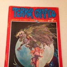Fumetti: TERROR GRAFICO Nº 3. 1972 URSUS. ANDREU.. Lote 61159587
