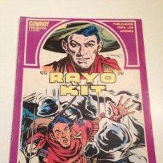 Cómics: RAYO KIT Nº 10. 1982 URSUS. Lote 61162739