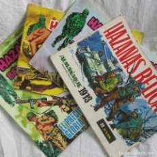 Cómics: 4 NÚMEROS DE HAZAÑAS BÉLICAS 1973. Lote 63805231