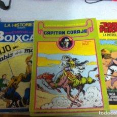 Cómics: EL HIJO DEL DIABLO DE LOS MARES (8)- CAPITÁN CORAJE (6)- JORGE Y FERNANDO (9). Lote 64766723