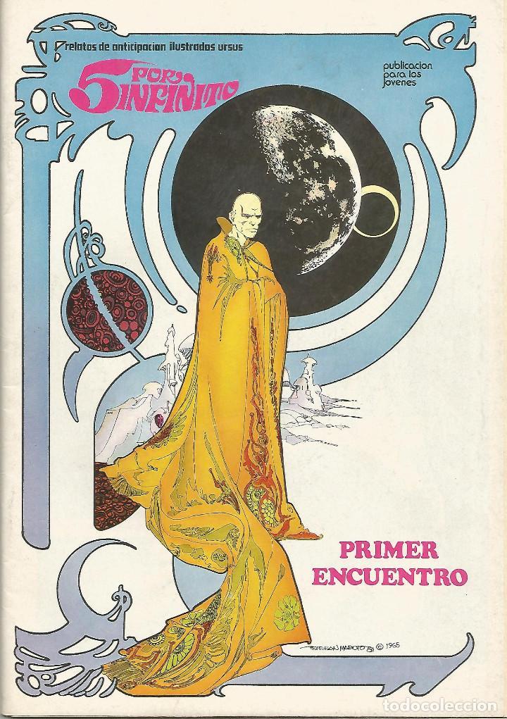 5 POR INFINITO EDICIONES URSUS COMPLETA 6 Nº. (Tebeos y Comics - Ursus)
