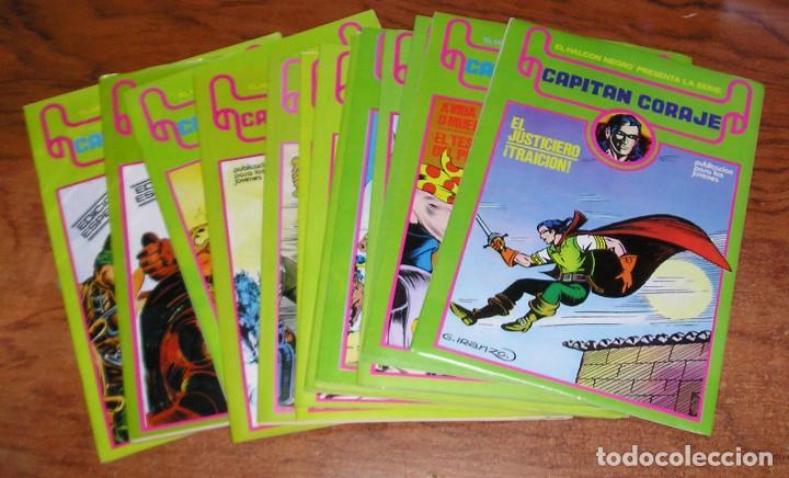 EL HALCON NEGRO · CAPITÁN CORAJE IRANZO URSUS COMPLETA 16 Nº (Tebeos y Comics - Ursus)