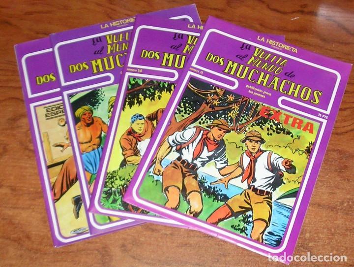 LA VUELTA AL MUNDO DE DOS MUCHACHOS EXTRA BOIXCAR URSUS COMPLETA 4 Nº (Tebeos y Comics - Ursus)