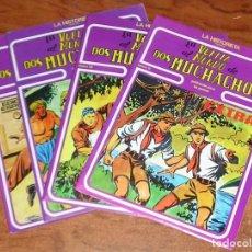 Cómics: LA VUELTA AL MUNDO DE DOS MUCHACHOS EXTRA BOIXCAR URSUS COMPLETA 4 Nº. Lote 70275973