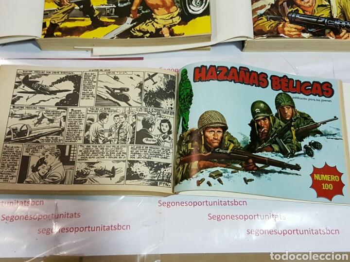 Cómics: LOTE COMPLETO - HAZAÑAS BÉLICAS - N ° 48 AL 100 - ED. URSUS - Foto 4 - 72239065