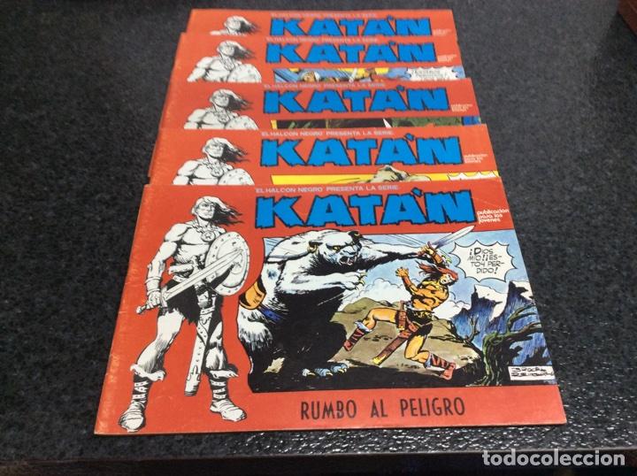 KATÁN COLECCION COMPLETA 10 EJEMPLARES , ED. URSUS 1980 (Tebeos y Comics - Ursus)