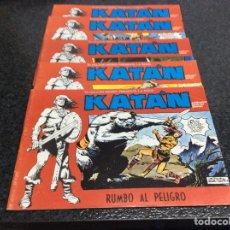 Cómics: KATÁN COLECCION COMPLETA 10 EJEMPLARES , ED. URSUS 1980. Lote 49544620