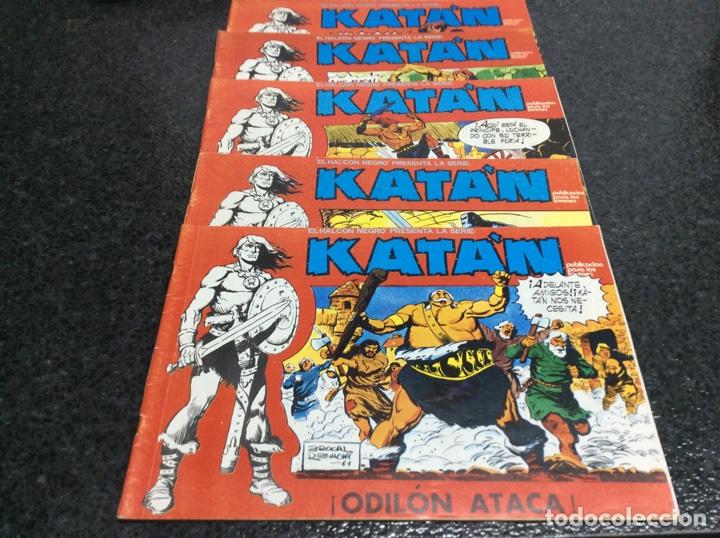 Cómics: KATÁN COLECCION COMPLETA 10 EJEMPLARES , ED. URSUS 1980 - Foto 4 - 49544620