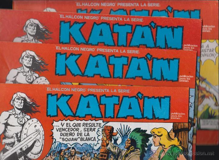 Cómics: KATÁN COLECCION COMPLETA 10 EJEMPLARES , ED. URSUS 1980 - Foto 2 - 49544620