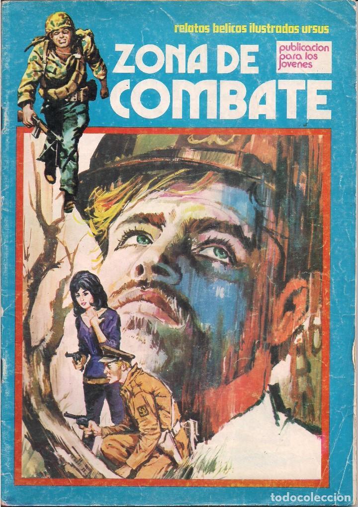 ZONA DE COMBATE Nº 78. RELATOS BELICOS ILUSTRADOS URSUS 1973 (Tebeos y Comics - Ursus)